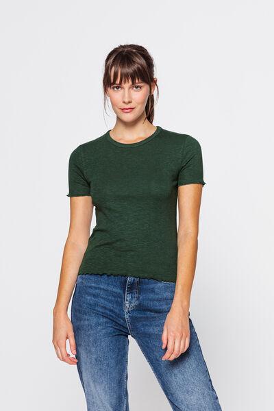 T-shirt épais volanté