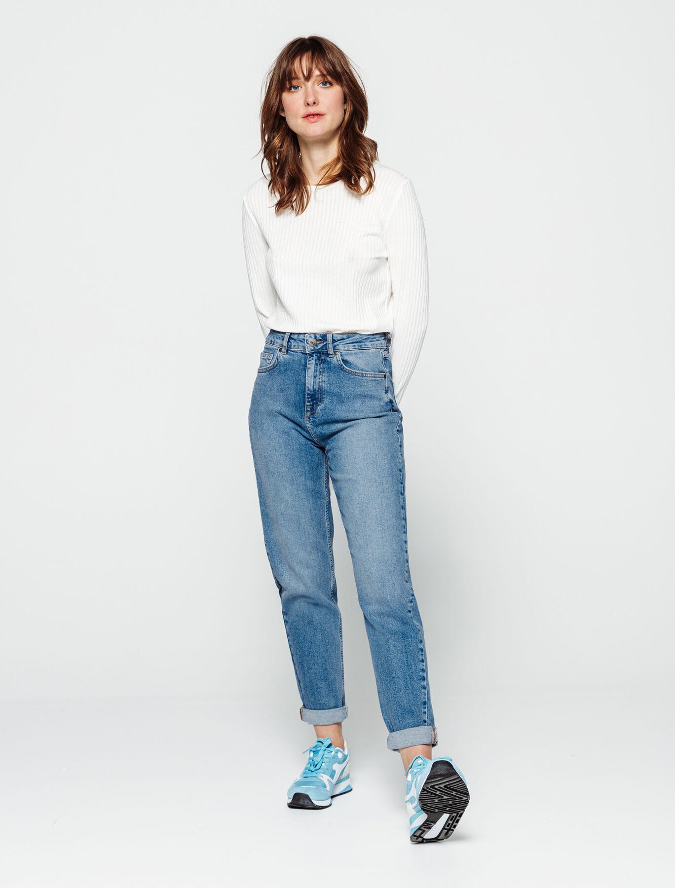 Jean Mom Taille Haute