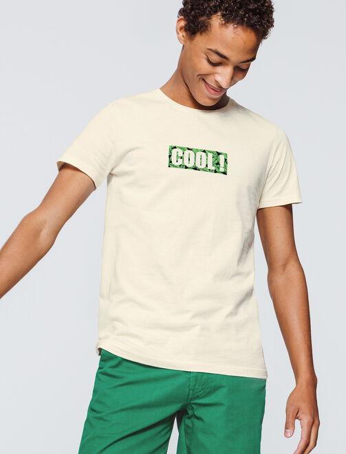 """T-Shirt à message """"Cool!"""" homme"""