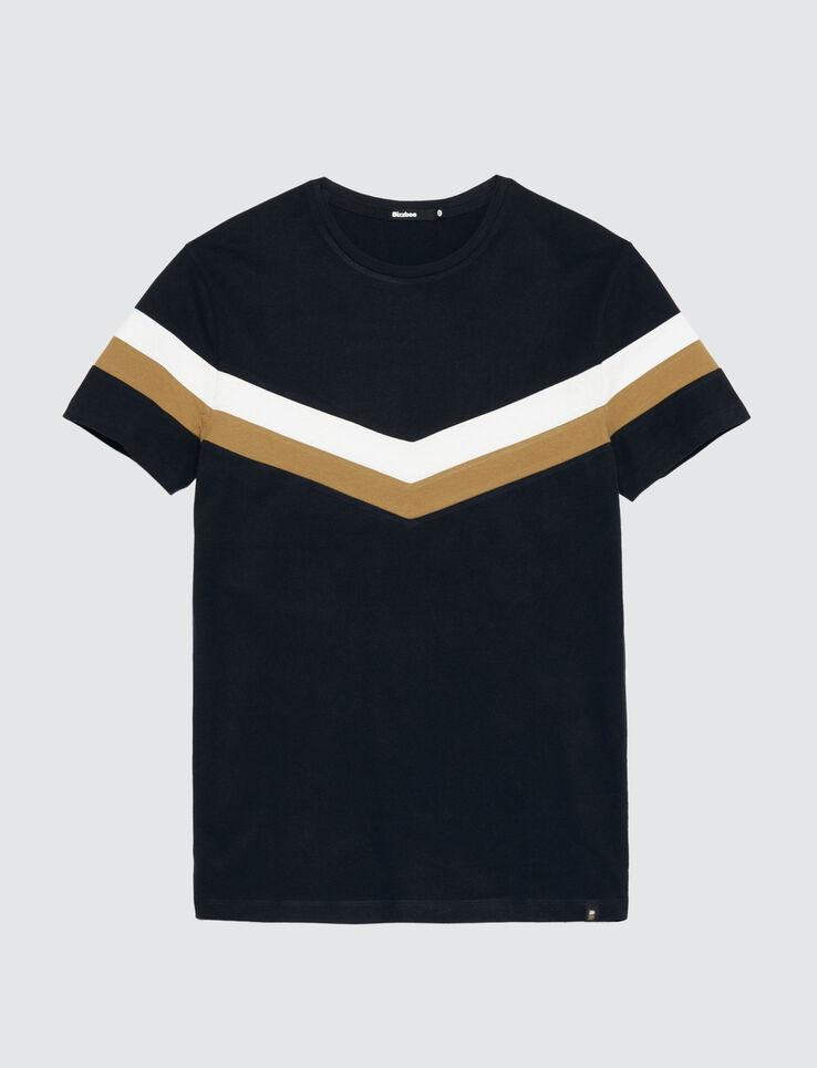 T-shirt colorblock V