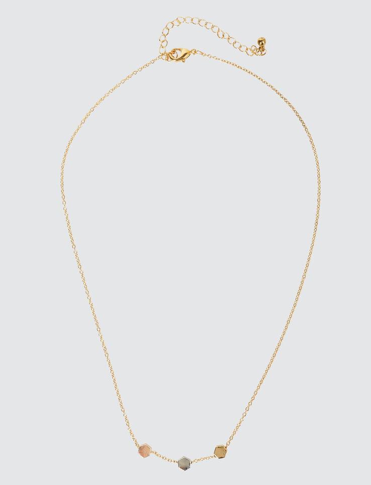 Collier Perles Tricolores