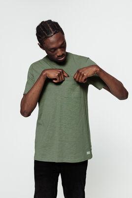 T-shirt flammé avec  poche fantaisie