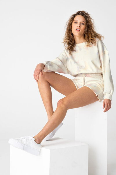 Ensemble sweat et short tie & dye