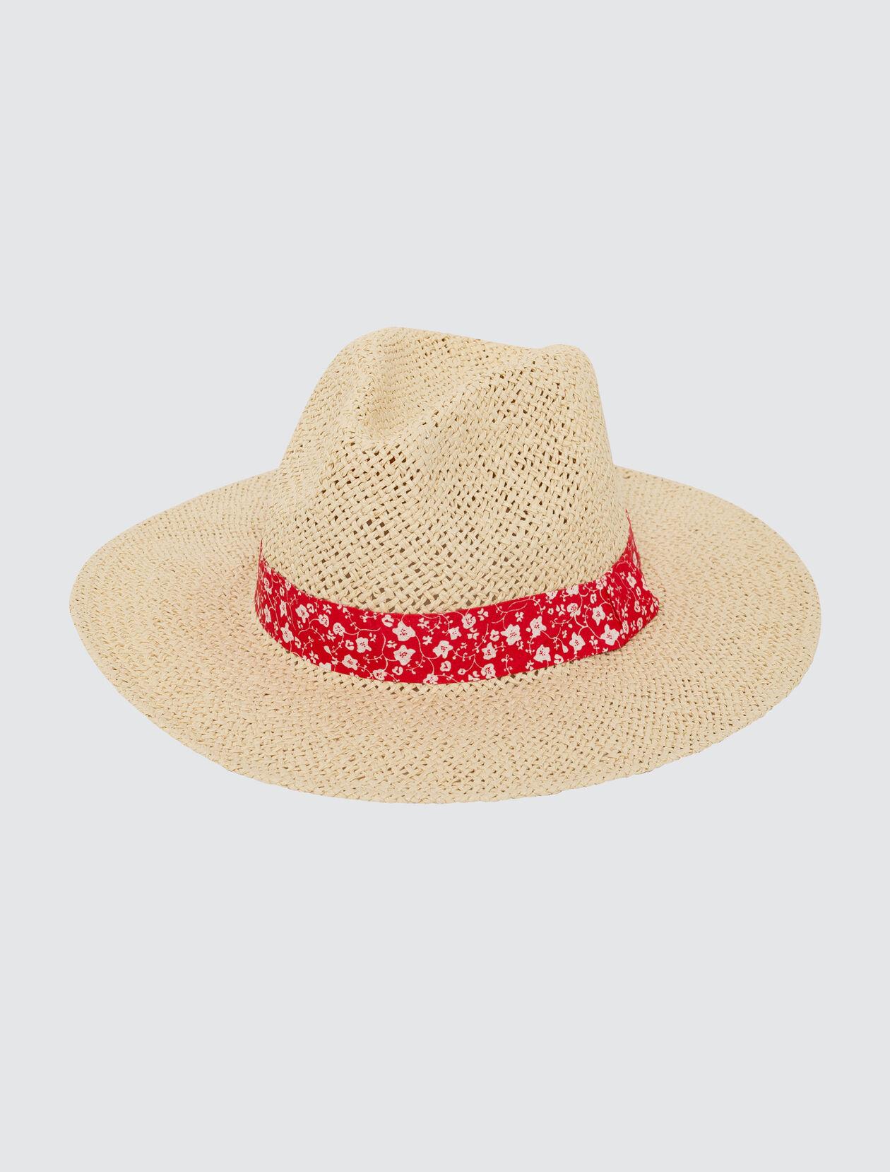 Chapeau de Paille Femme Naturel