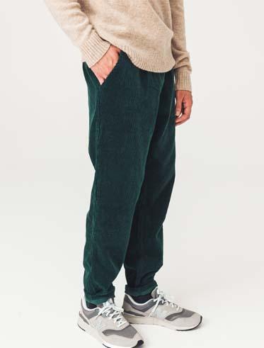 Pantalon Slouchy en Velours