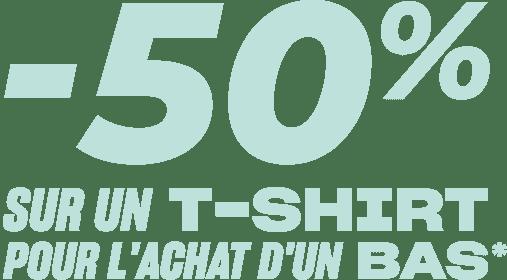 50€ offert sur toute la collection