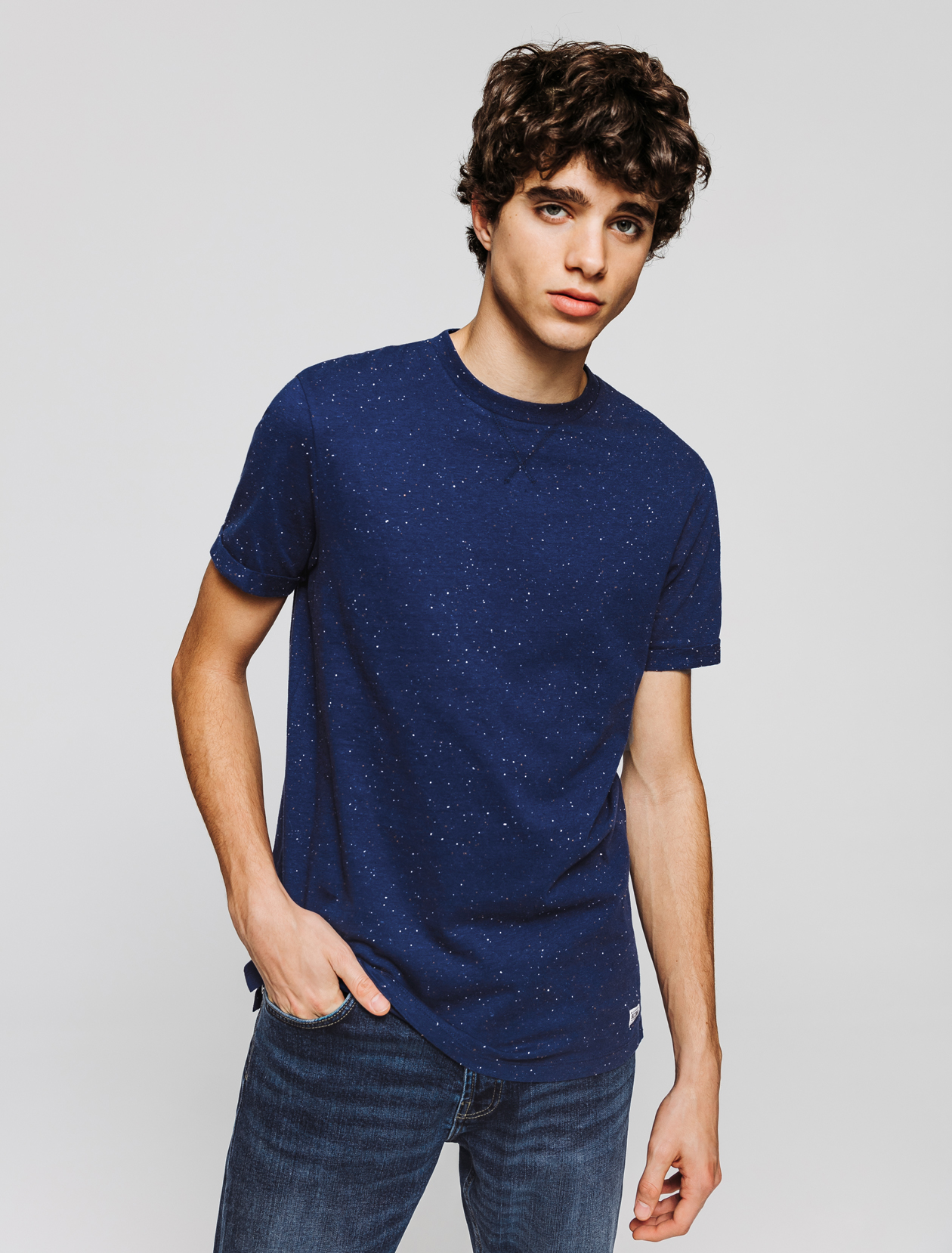 T-shirt coton nep's manches courtes  homme
