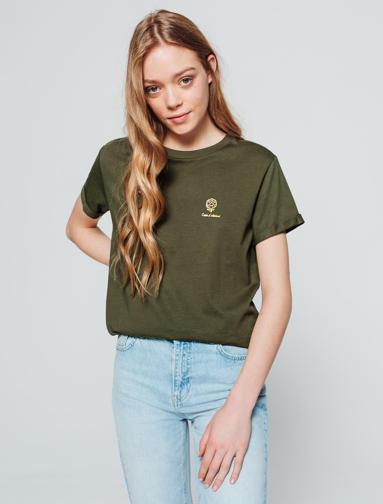 T-shirt Cœur d'artichaut  femme