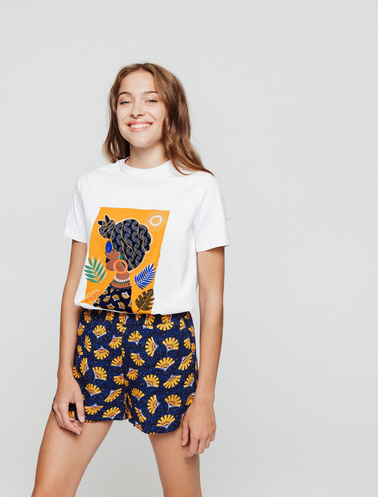 T-shirt visage femme  femme