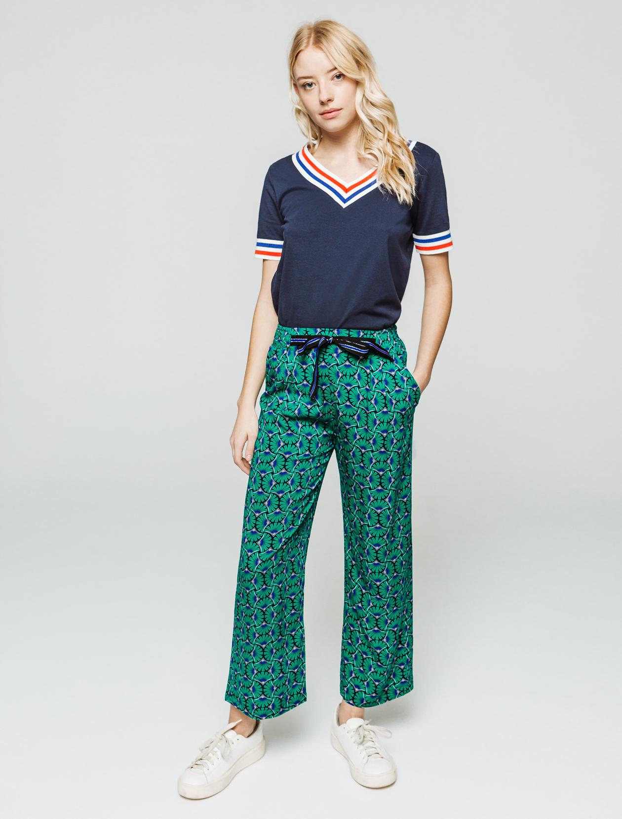 Pantalon imprimé femme