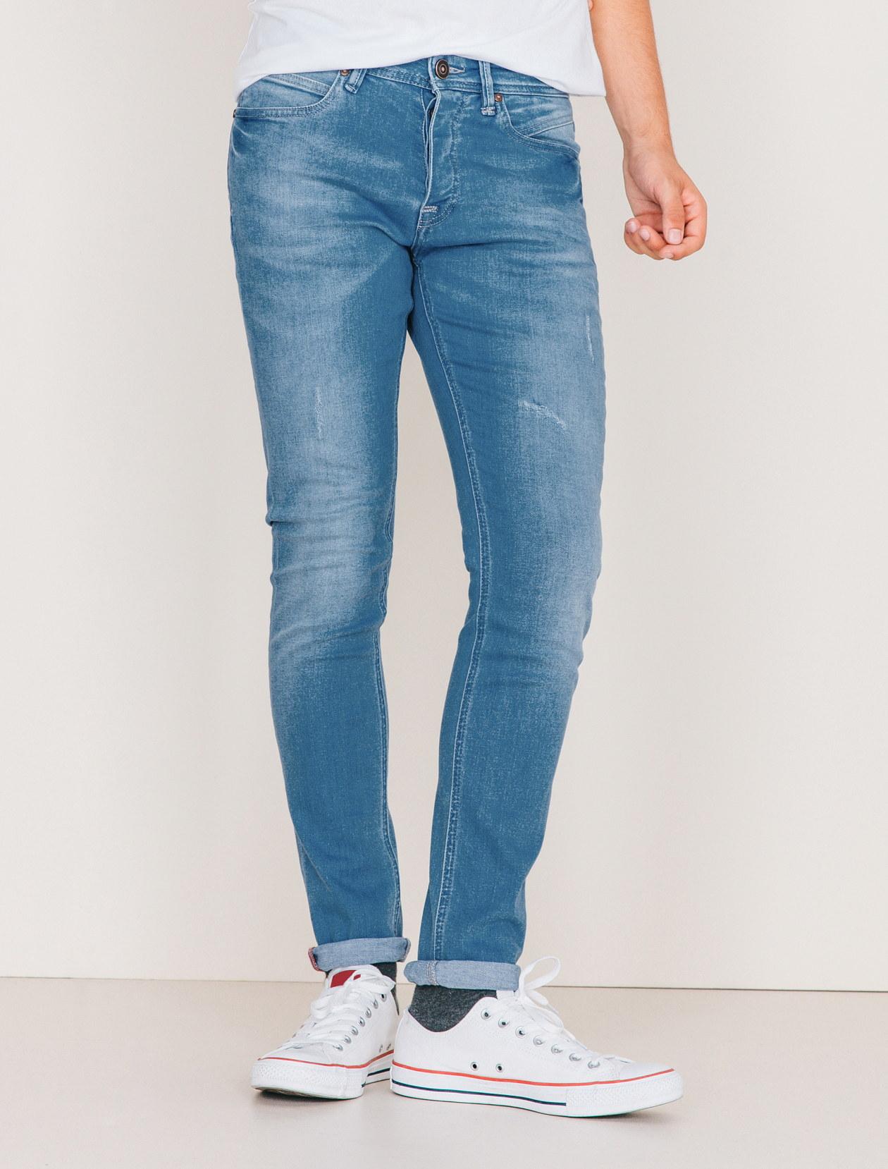Jean skinny clair homme