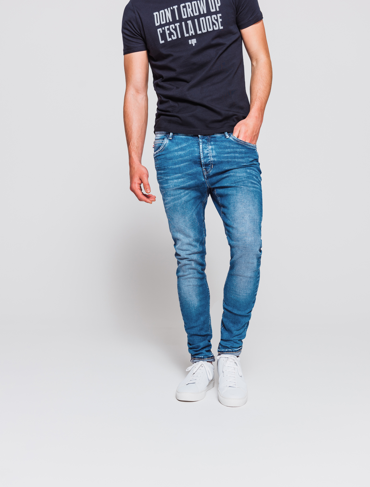 Jean skinny stone homme