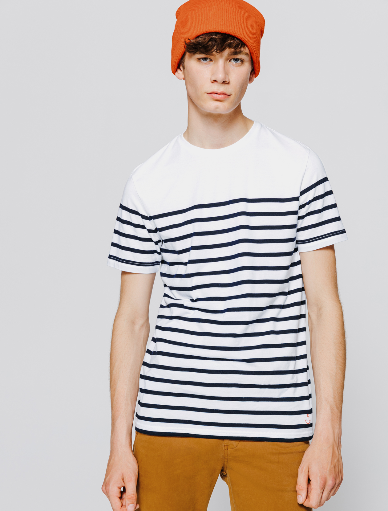 T-shirt Marinière homme
