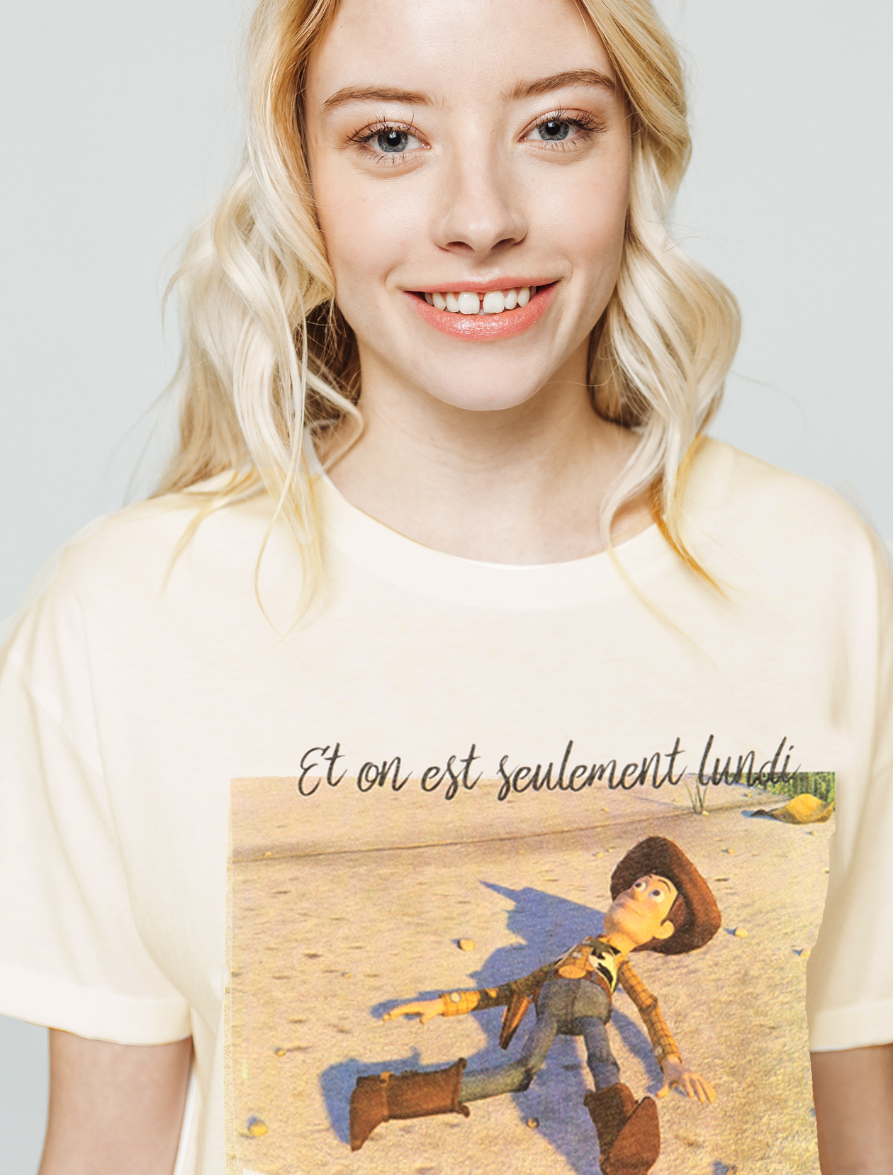 T-shirt TOY STORY WOODY femme