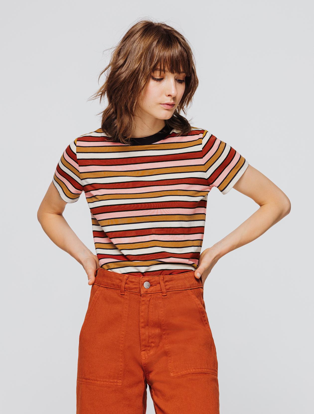 T-shirt rayé femme