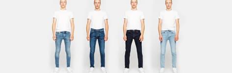 Bar à jeans homme