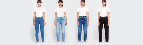 Bar à jeans femme